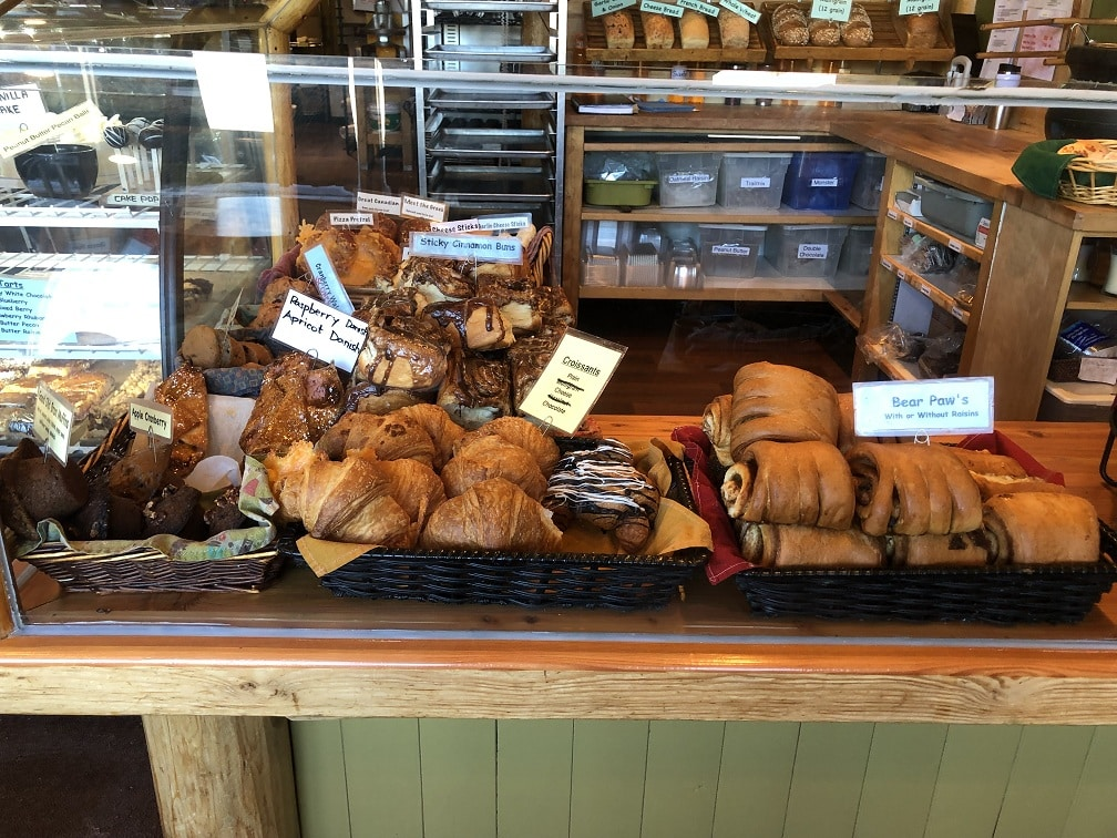 Bear's Paw Bakery Jasper ontbijten