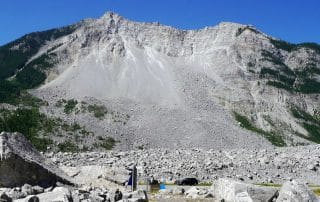 Frank Slide Crowsnest Highway Alberta