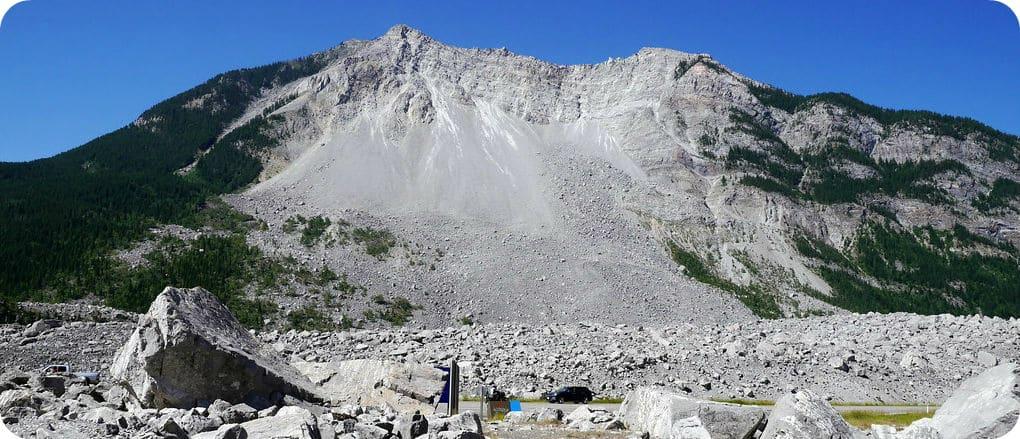 Frank Slide Alberta Crowsnest Pass