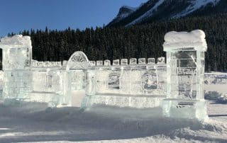 Ice Magic Festival ijssculpturen Lake Louise