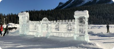 Ice Magic Festival ijssculpturen Lake Louise
