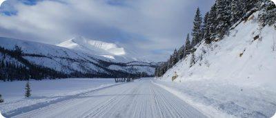 sneeuwval noordoosten British Columbia