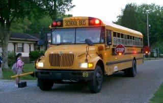 verkeersregels schoolbussen Canada