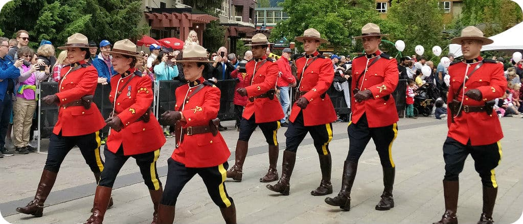 Royal Canadian Mounted Police RCMP Mounties Canada