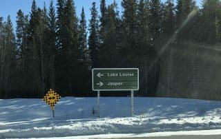 Calgary naar Jasper Icefields Parkway