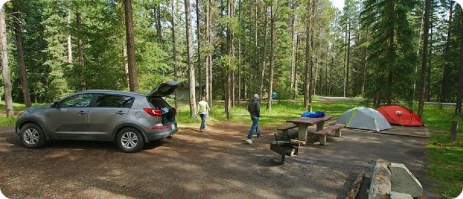 Campingreserveringen 2020 Jasper National Park