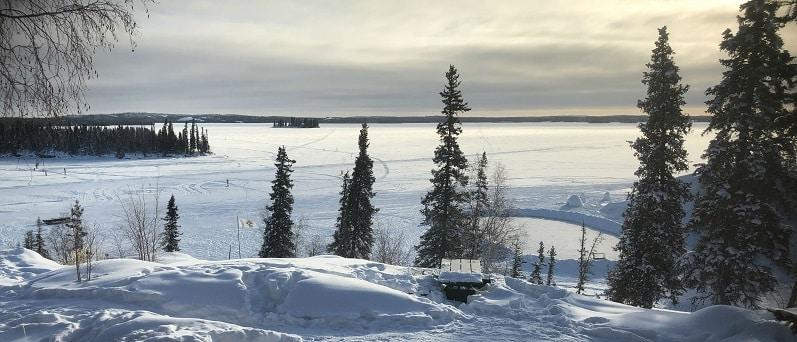 koudegolf in Alberta extreme temperaturen