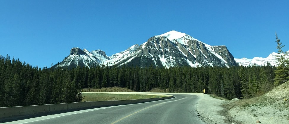 Edmonton naar Jasper reis