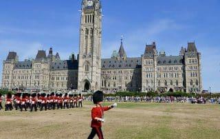 Parliament Hill Ottawa Change of the Guard