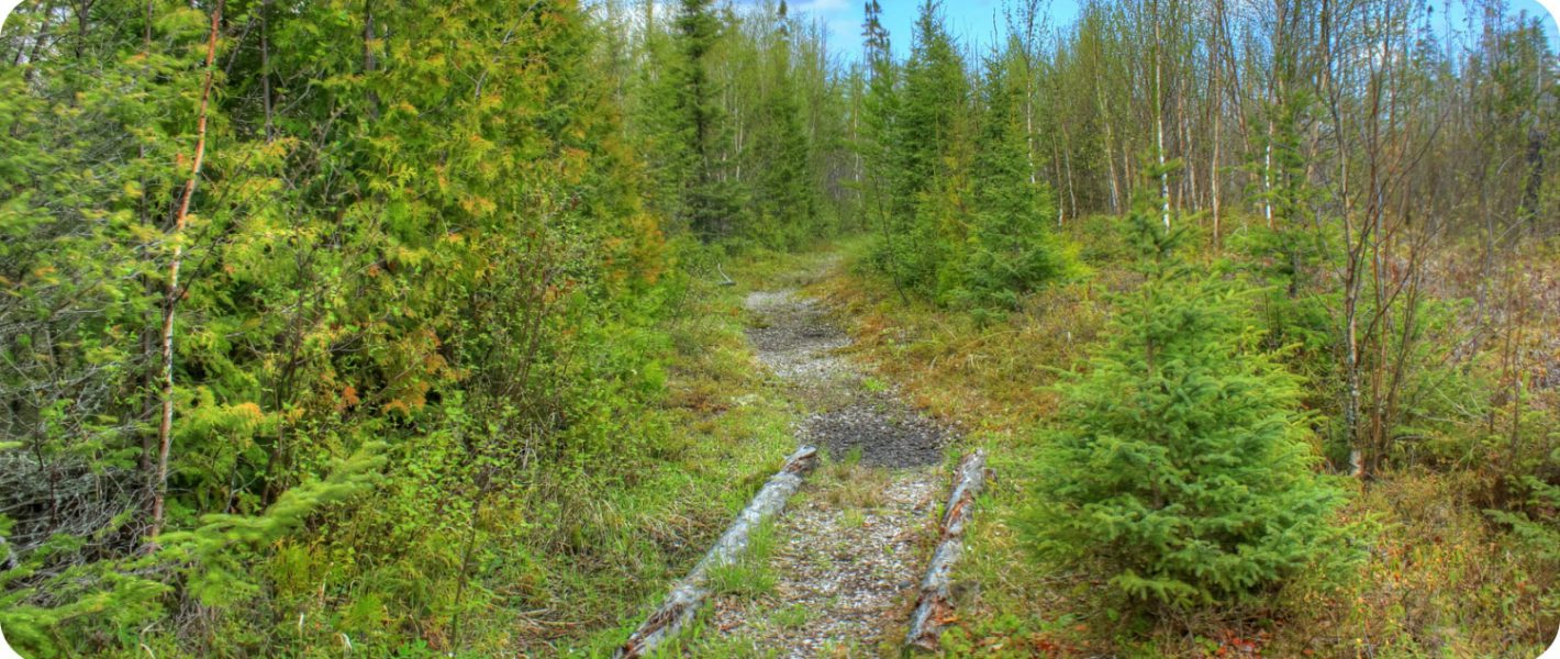 Trans Canada Trail Great Trail wandelen