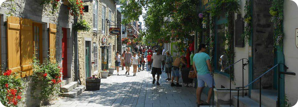 Rue du Petit Champlain Quebec City