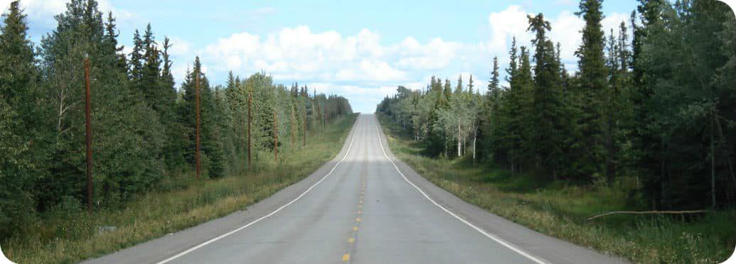 Roadtrips Canada Alaska Highway