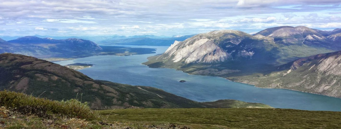 Carcross Yukon mountainbiken Montana Mountain