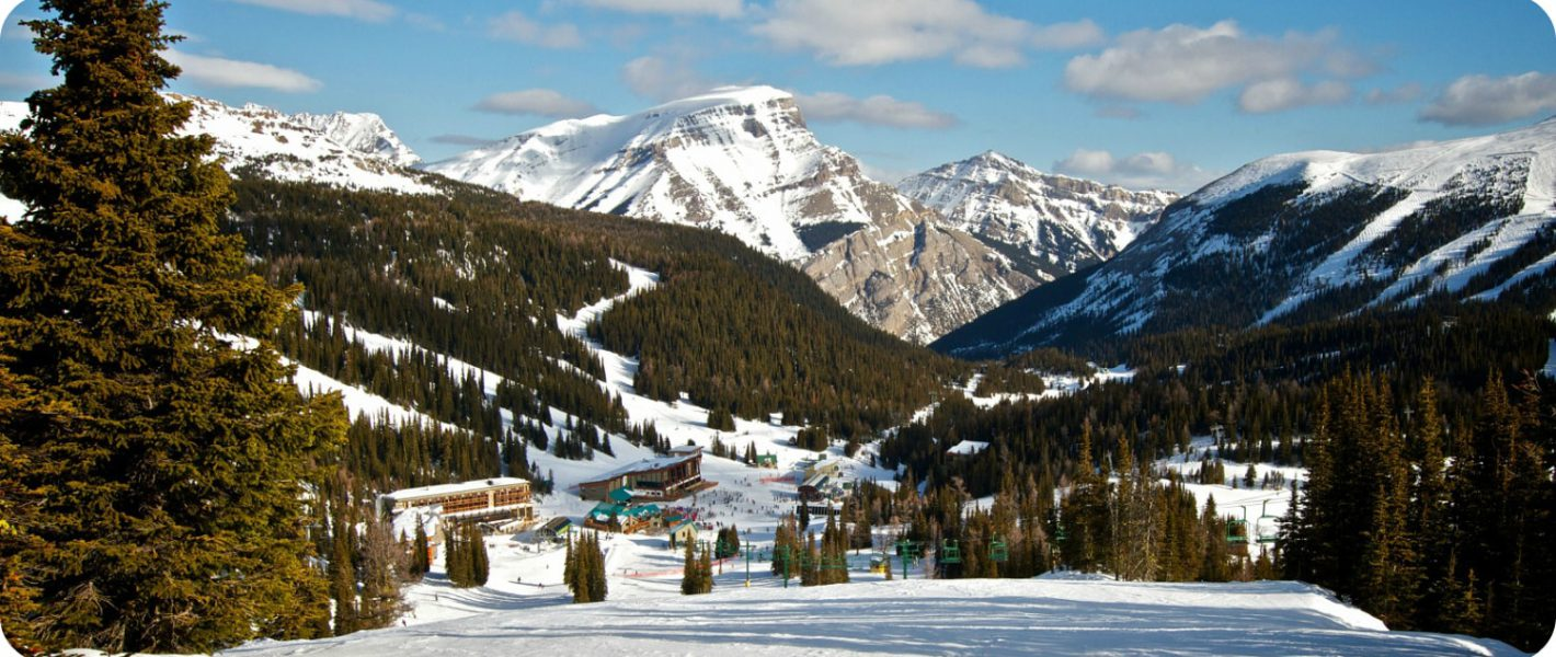 Wintersport naar Banff Sunshine Village