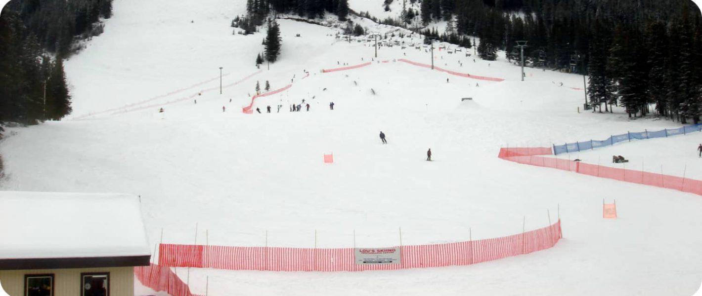 Skiën bij Mount Norquay Banff
