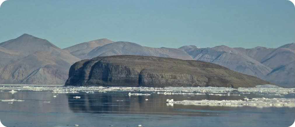 Hans Island Nunavut Canada Denemarken