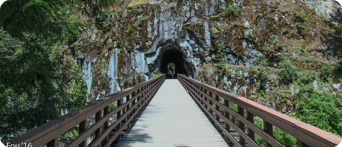 Othello Tunnels Hope British Columbia wandelen
