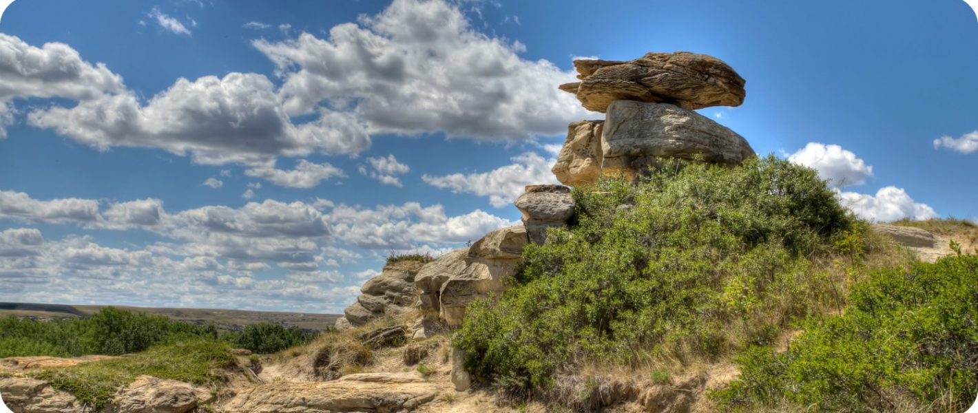 Writing On Stone Provincial Park Alberta