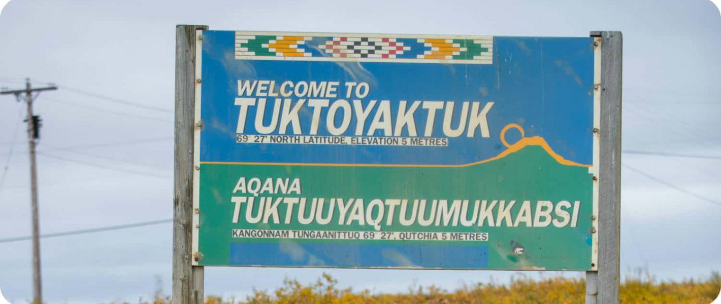 Inuvik-Tuktoyaktuk Highway Dempster