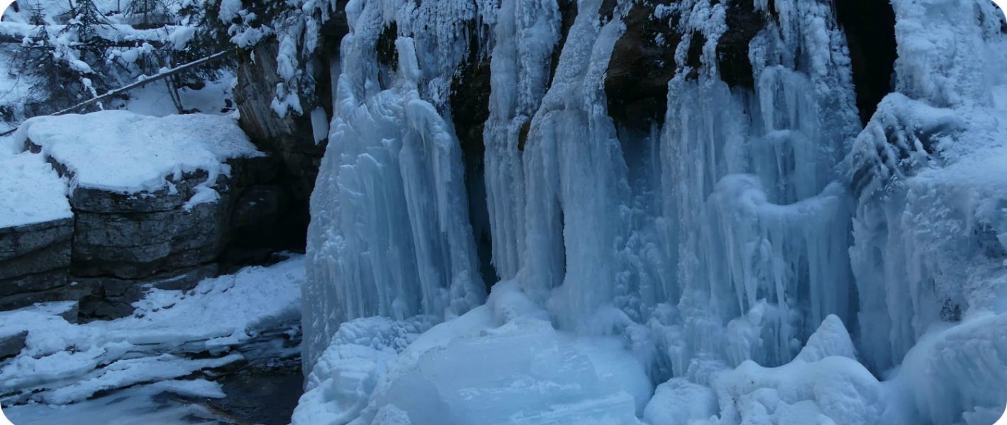 Maligne Canyon Icewalk Jasper Alberta