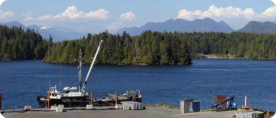 natuurbehoud van Clayoquot Sound Tofino Vancouver Island
