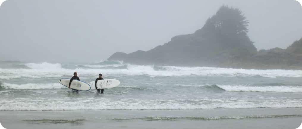 Surfseizoen in Tofino