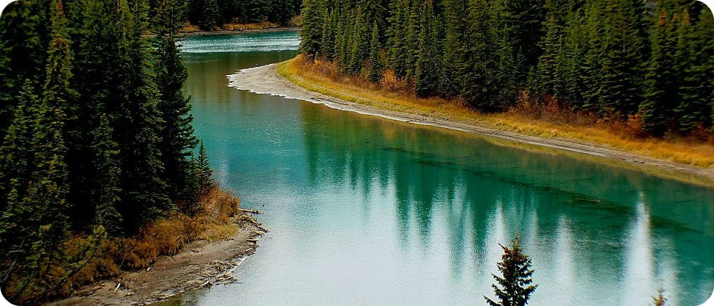 Bow River Banff National Park
