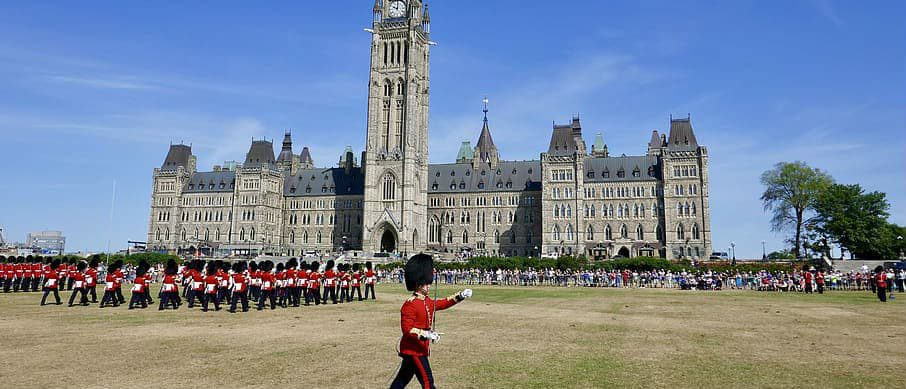 Parliament Hill Ottawa Change of the Guard