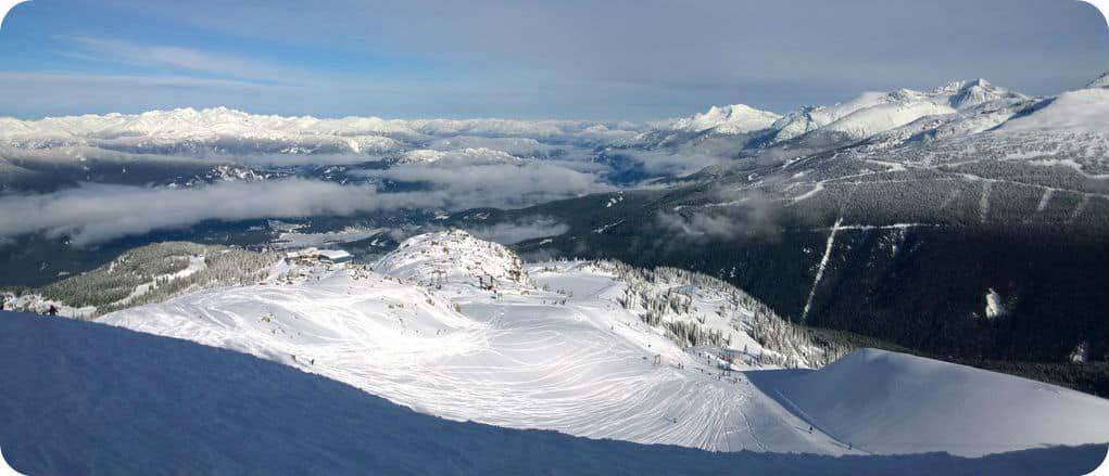 Whistler Blackcomb wintersport Canada