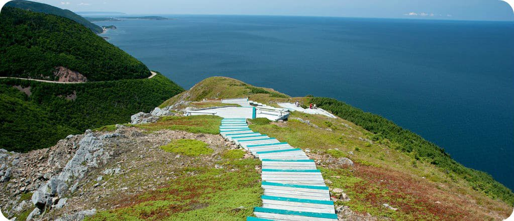 Skyline Trail Cape Breton Highlands wandeling